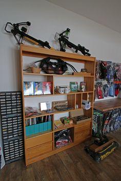 Impressionen aus unserem neuen Bogensport-Shop | Deutscher Bogensportverlag