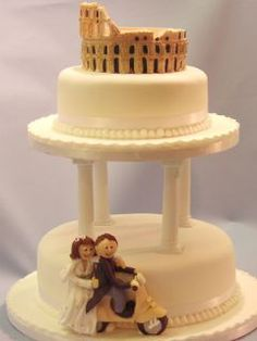 Novelty Wedding Cakes www.the-cakeshop.co.uk