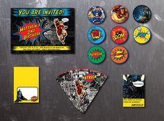 Comic DC Marvel Printable DIY