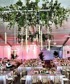 Dripping orchids and hanging glass globes made this tent so incredibly romantic.  We used a blush shantung linen with silver and gold accents.  Florals by Surroundings Floral Studio and Photo credit @traceybuyce