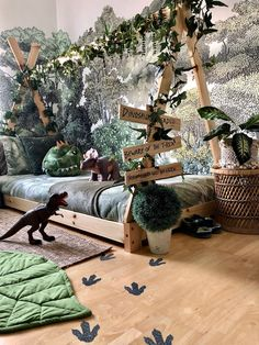 Kinderzimmer Barley is less nutritious than wheat, and to many people is less agreeable in flavor. Baby Bedroom, Baby Boy Rooms, Baby Room Decor, Bedroom Green, Dream Bedroom, Girls Bedroom, Dinosaur Room Decor, Dinosaur Bedroom, Boys Dinosaur Room