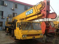 used kato 40t hydraulic mobile truck crane original from japan (NK-400E-3) - China Tadano Original Truck Crane;used kato 40t cranes;Hydra...