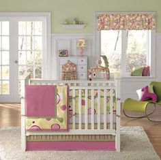 love the olive green and pink...would work with olive green and light blue too.