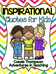 In this freebie you will find 5 different quotes- each in color and black/white. I like to put these in frames around the classroom. Please remember to leave feedback if you download this great freebie! :) Click here to view the official terms of use for