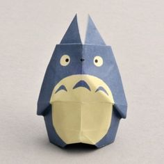 totoro origami #studioghibli