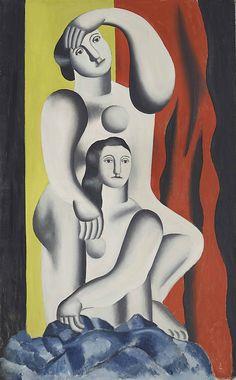 Fernand Léger   Deux femmes