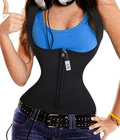 Magic Slimming Sweat Vest Hot Neoprene Shapers Sauna Vest Shirt Weight Loss XXLarge BlackQuick Weight Loss >>> Find out more about the great product at the image link.