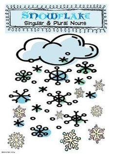 Snowflake Singular & Plural Nouns