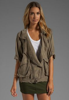 Lovers + Friends for REVOLVE Fun Times Jacket in Army