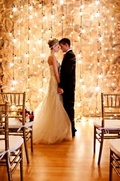 Fairy lights and romance go hand in hand