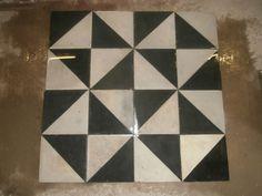 Antique Victorian tiles - set of  250 tiles - 107sq ft of surface