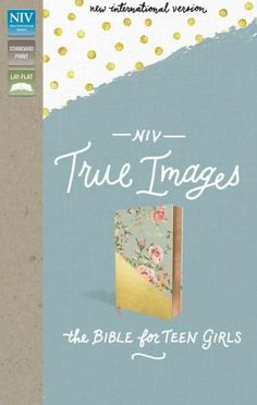 Holy Bible: New International Version, /Gold, Imitation Leather, True Images Bible: the Bible for Teen Girls