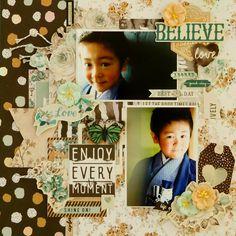 『BELIEVE』by Miyuki Kawakami  - Scrapbook.com