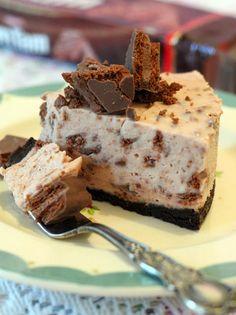 butter hearts sugar: Tim Tam Cheesecake