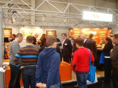 There was lots of interest in our stand at the fair