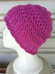 The Double Dip stitch creates a different texture and look for a hat. Free Double Dip Stitch Hat pattern included after stitch pattern.