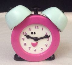 Blues Clues Talking Tickety Tock Alarm Clock Toy Fisher Price 1999 w/  Batteries #FisherPrice