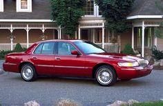 2003 Mercury Grand Marquis GS.. 2 of 4.. lowest mileage when owned with 88,000... traded for the Cadillac...
