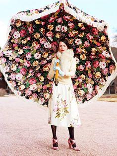 Guarda-sol - Floral