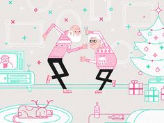 Today is my day of It's a Shape Christmas by @MadeByShape. You can download the wallpaper here http://itsashapechristmas.co.uk/entry/oliver-sin-2013  If you'd like to donate you can do so when you ...