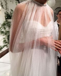 sheer cape x strapless monique l'huillier wedding dress Bridal Dresses, Wedding Gowns, Monique Lhuillier Bridal, Monique Lhuillier Bridesmaids, Wedding Inspiration, Style Inspiration, Bridal Fashion Week, The Dress, Bridal Style