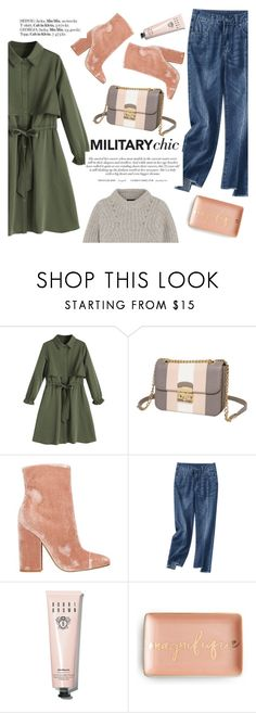 """Military chic"" by punnky ❤ liked on Polyvore featuring Kendall + Kylie, Bobbi Brown Cosmetics and Isabel Marant"