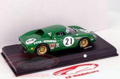 CK-Modelcars - Ferrari 250 LM #21 24h LeMans 1968 Piper / Attwood 1:43 AltayaHersteller: Altaya Maßstab: 1:43 Team: Scuderia Ferrari Fahrer: David Piper, Richard Attwood Fahrzeug: Ferrari 250 LM Serie: 24h LeMans Saison: 1968