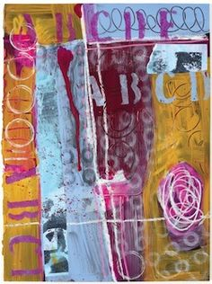 Layering Techniques from Acrylic Techniques in Mixed Media - Create Mixed Media