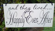 Wedding Photo Prop Here Comes The Bride/Happily by limitedlane, $34.95