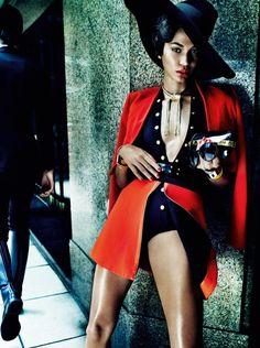 Fashiontography: Joan Smalls by Mario Testino