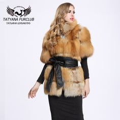 >> Click to Buy << 2016 New Genuine Red Fox Fur Coat Winter Thick Fur Jacket Women Long Fox Fur With Collar BF-C0026 #Affiliate