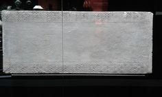 Panel funerario. Funerary pannel (Terracota, Dinastía Han del Oeste, 206 a.C. - 8 d.C.) #MarqHan
