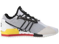 443184abe3d4 adidas Y-3 by Yohji Yamamoto Harigane Athletic Shoes White Black Y-3 Lush  Red