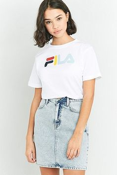 Fila Eagle White Logo T-shirt