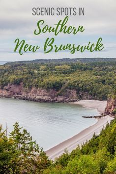 The famous Hopewell Rocks, Fundy National Park and cute villages of St. Martins and Alma are some great spots worth exploring in southern New Brunswick. Pvt Canada, Visit Canada, Canada Trip, Canada Eh, Montreal Travel, Toronto Travel, East Coast Travel, East Coast Road Trip, Cool Places To Visit