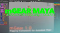 mGear is an open sourced rigging framework for Autodesk Maya, which includes modules and some new C++ Solvers for Maya that are designed for rigging.
