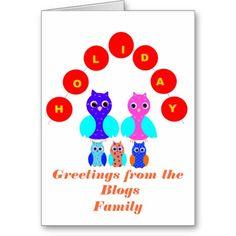 Holiday Card, add photos.text,   http://www.zazzle.com/cardshere* http://www.zazzle.com/artistjandavies*