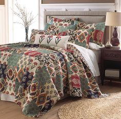 Kayla Quilted Bed Dressing - Acacia