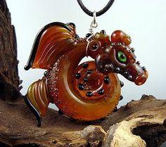 Cynthia Tilker Art Glass Studio: Dragon...