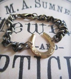 Horseshoe+Bracelet+by+Byrdie+on+Scoutmob+Shoppe