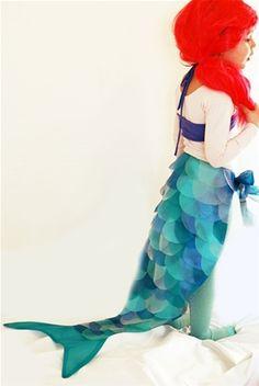 Billedresultat for havfrue udklædning