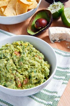 Blue Cheese Guacamole... A Luxurious Take On A Crowd-Pleasing Favorite!