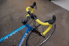 What Adelaide would look like with yellow bar tape. Kind of like this.