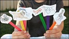 Suzie's Home Education Ideas: Hairy Maclary's Bone: Positional Language Activity