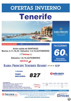 Tenerife, 60% Bahia Principe Tenerife Resort, salidas desde Santiago de Compostela - Febrero ultimo minuto - http://zocotours.com/tenerife-60-bahia-principe-tenerife-resort-salidas-desde-santiago-de-compostela-febrero-ultimo-minuto/