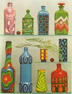 Flacons multicolores