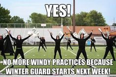 One of the best feelings, and then dread when you realize marching band is starting soon