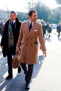 Men's wardrobe must- in both colours... Bet it looks great in black