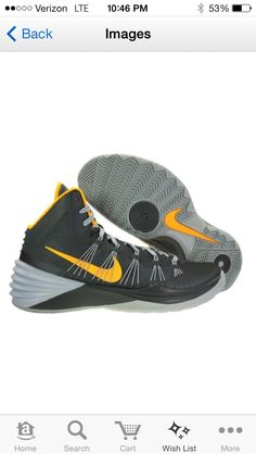 Nike Mens Hyperdunk 2013 Basketball Shoes Armory Slate Grey/Laser Orange. I have only the pure orange shoes. These ones look a bit nicer though.