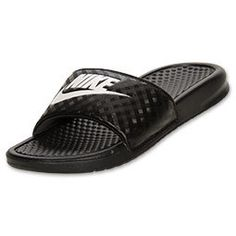 b020c7c727037f Women s Nike Benassi JDI Swoosh Slide Sandals by Glitzland on Etsy  https   www